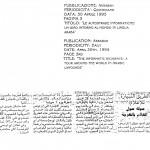 Figura 20 Il quotidiano tunisino Assabah in data 30 aprile 1995 titola Le autostrade informatiche un giro intorno al mondo in lingua araba