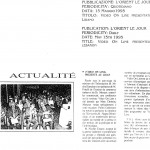Figura 21 Il quotidiano libanese L'ORIENT LE JOUR in data 15 maggio 1995 titola Video On Line presentato in Libano