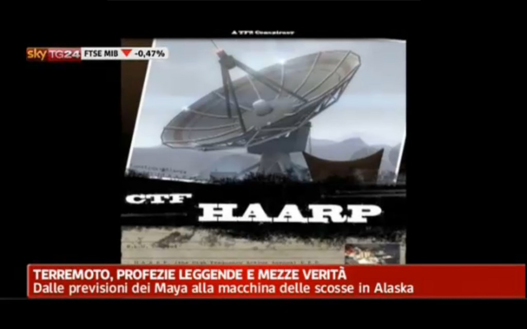 Fig. 3. SkyNews24 smonta miti e teorie complottistiche. Fonte: http://video.sky.it/video/archivio.html. Si veda in particolare la nota 11.