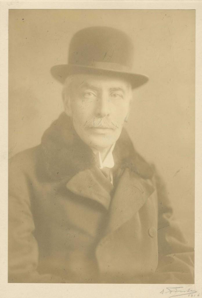 Fig. 1. Markus Freiherr von Spiegelfeld, Präsident des GZNB und des Fürsorgekomitees für Kriegsgefangene vom Österreichischen Roten Kreuz, Aufnahme aus dem Jahr 1916, Bibliothek Ansitz Lichtenthurn, Privatbesitz.