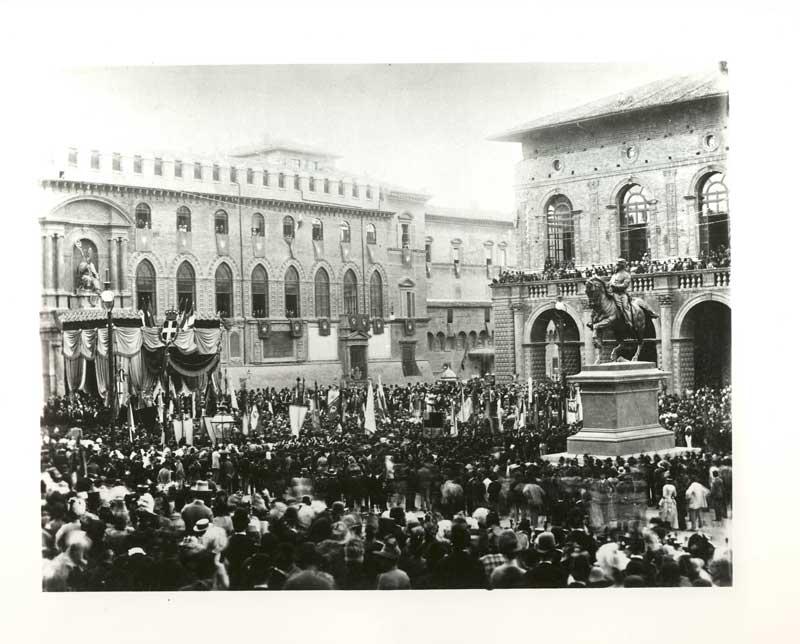 Inaugurazione del monumento di Vittorio Emanuele II, Fondazione Carisbo