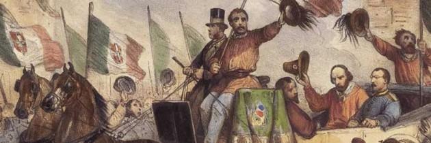 Nascita di una nazione.  Immagini del Risorgimento italiano  nelle raccolte dell'Archiginnasio. Bologna, 10 giugno-17 settembre 2011