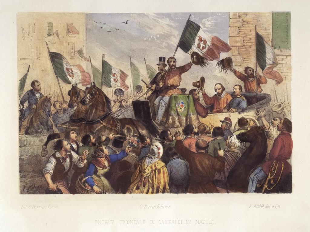 fig. 3 Entrata trionfale di Garibaldi in Napoli