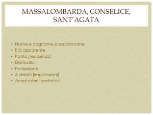 Fig. 14. Massalombarda, Conselice, Sant'Agata composizione del fondo.