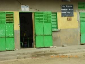 Foto 3. Ufficio del Direttore. Scuola primaria pubblica di N'Dangane, Senegal, Aprile 2012. Foto dell'autrice