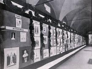 La mostra dei monumenti patriottici a Bologna nel 1911