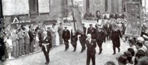 Le manifestazioni del 7 giugno 1959. La sfilata dei gonfaloni