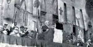Le manifestazioni del 7 giugno 1959. Il discorso del Sindaco Dozza