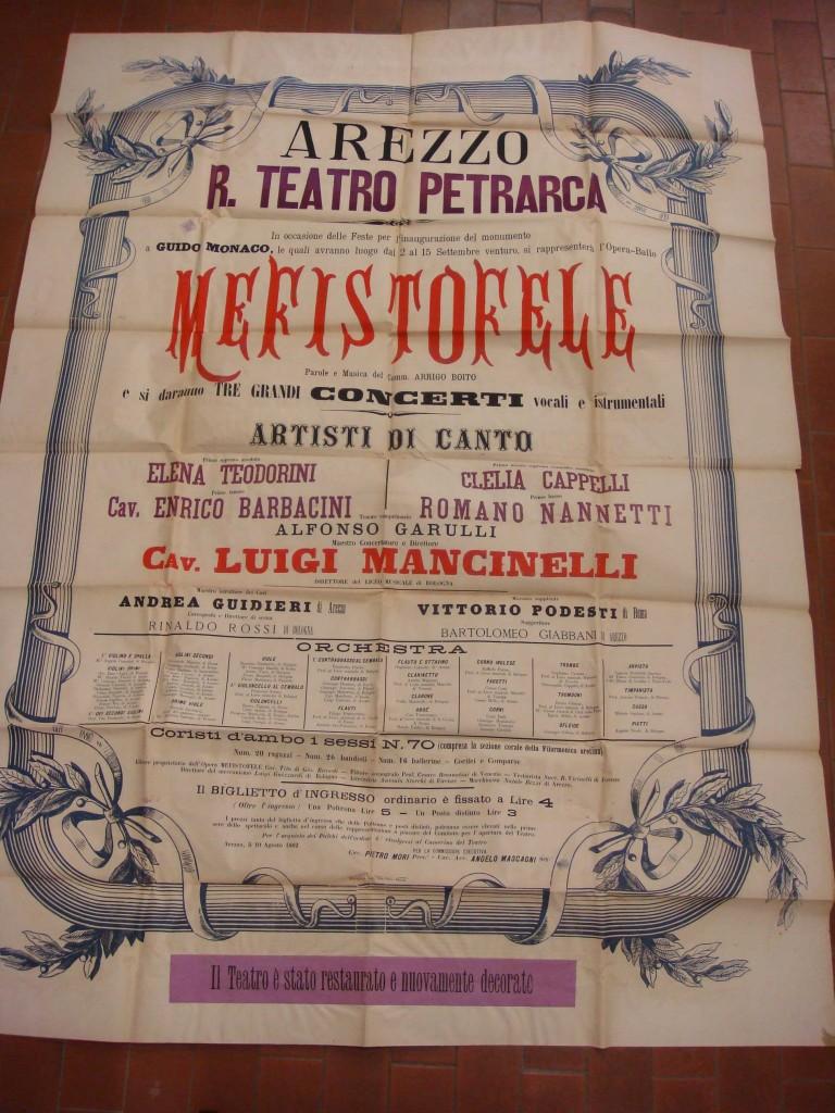 """Cronaca Aretina"", Arezzo, 1882."