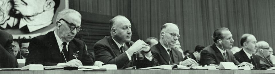 """Luigi Longo e la costruzione del  """"nuovo internazionalismo"""": 1964-1969."""